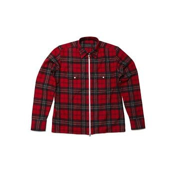 Raised By Wolves Tahoe Zip-up - Red/Black/White