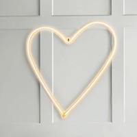 Heart Neon Wall Light