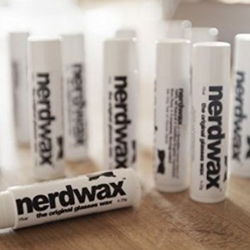 Nerdwax - the Original Glasses Wax - A Beeswax Based Blend of All Natural and Organic Ingredients - Keep Your Glasses From Slipping Down Your Nose