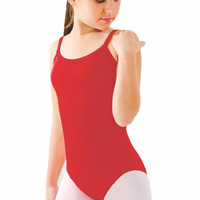 So Danca D489 Child Camisole Padded Leotard with Princess Seams