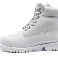 all white timberlands - Google Search
