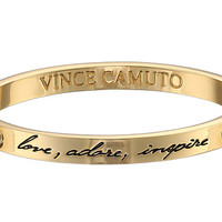 "Vince Camuto Language Of Love ""Love, Adore, Inspire"" Bracelet Gold - Zappos.com Free Shipping BOTH Ways"