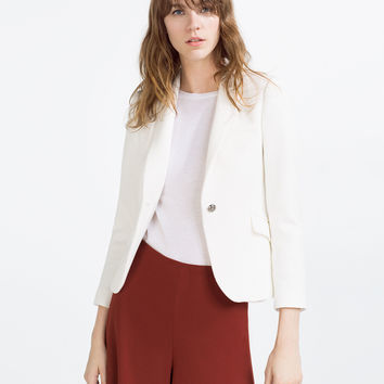 TAILORED JACKET - BLAZERS-WOMAN | ZARA United Kingdom