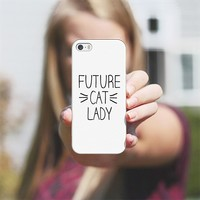 Future Cat Lady Whiskers iPhone 5s case by Rex Lambo | Casetagram