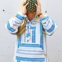 Large Baja Hoodies | Mexican Threads