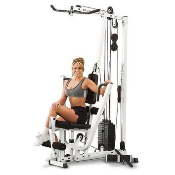 Flex Force 50 in 1 Resistance Chair Gym, Complete Workout System, Home Gym