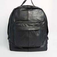 Reclaimed Vintage Leather Backpack at asos.com