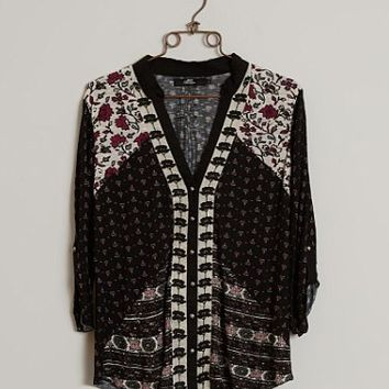 BKE BOUTIQUE PRINTED SHIRT