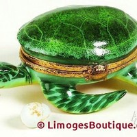 Sea Turtle Limoges Boxes