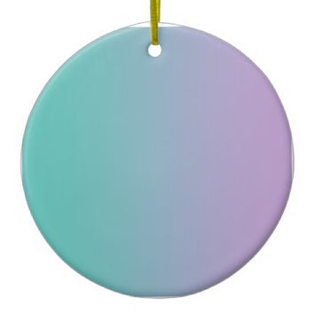 Verdigris Moonstone blue Cadet grey Light purple Ceramic Ornament