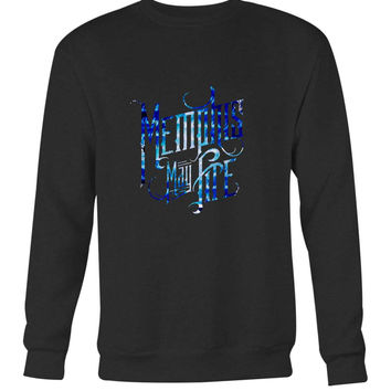 Memphis May Fire Logo Title Colour Long Sweater