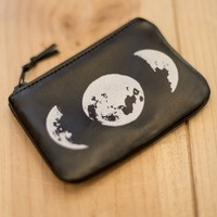 Moon Phase Coin Pouch