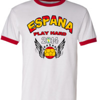 SPAIN WORLD CUP T SHIRTS