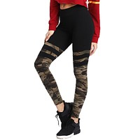 Camo Stitching Sports Pants/Yoga Fitness Leggings