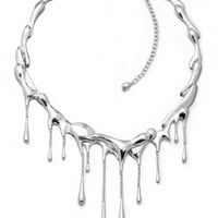 Drip Necklace (Sterling SIlver) from LucyQ Designs | Made By LucyQ | £820.00 | BOUF