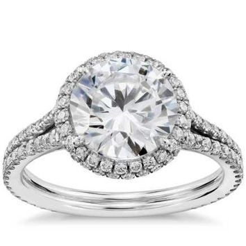 CERTIFIED 2.5 CT ROUND CUT G/SI1 REAL ENHANCED DIAMOND SOLITAIRE ENGAGEMENT RING 14K GOLD