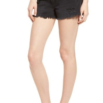 BP. Fray Hem Denim Shorts | Nordstrom