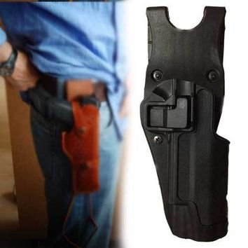 Hlhsport Holster Quick Auto Lock 1911 Pistol Holster Tactical Military Colt 1911 Gun Holsters Paddle with Belt
