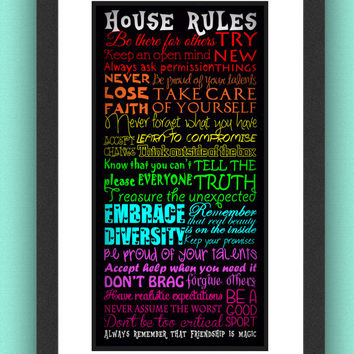 Brony House Rules My Little Pony Friendship Is Magic