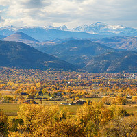 Boulder Colorado Autumn Scenic View Print By James Bo Insogna