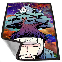 Neigbhor Totoro Meet Naruto for Kids Blanket, Fleece Blanket Cute and Awesome Blanket for your bedding, Blanket fleece *02*
