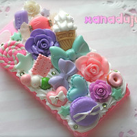 Customizable Supa Kawaii Whipped Cream Case by xanadujulie on Etsy