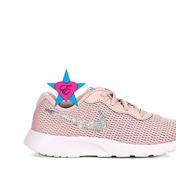 Crystal Pink Blush NIKE Girls Tanjun | 3.5 - 7