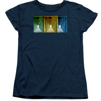 Triple Perspective Womens T-Shirt for Sale by Ben and Raisa Gertsberg