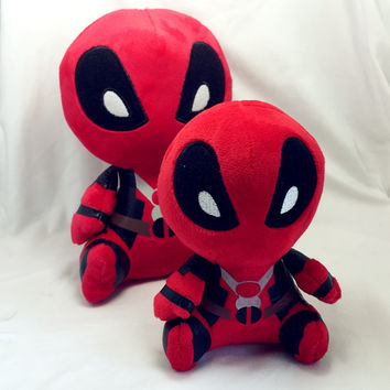 Marvel Movie Deadpool 2016 Soft Deadpool Plush Doll Toy Figure 20CM action figure