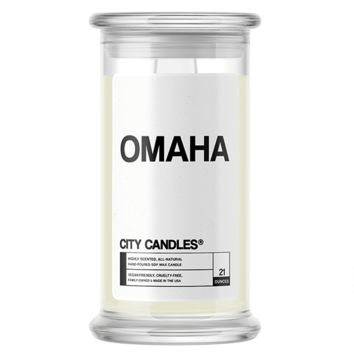 Omaha | City Candle®