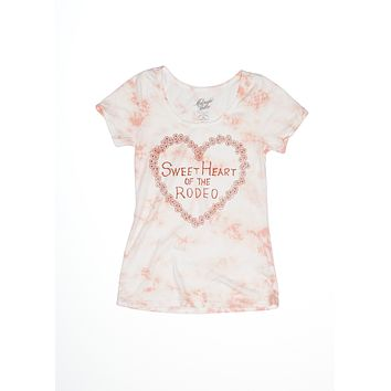 Sweetheart of the Rodeo Ballet Tee - Dahlia Cloud Wash