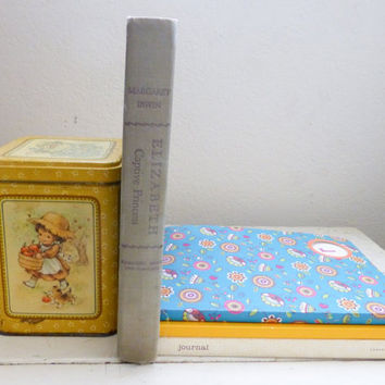 Elizabeth Captive Princess by Margaret Irwin, 1948 edition, hard cover, historical figures, history book, gray cover, English history