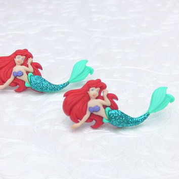 Disney's The Little Mermaid Ariel Stud Earrings