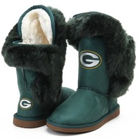 Cuce Green Bay Packers Women's Green Champions Boots