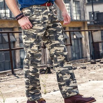 Casual Pants Clothing Tactical Cargo Pants Khaki