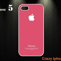 Pink iphone 5 case iphone 5 cases iphon case apple case apple iphone case hard iphone 5 case iphone cover /iphone 4 case/ iphone 4s case