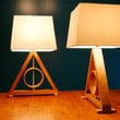 Deathly Hallows Table Lamp Harry Potter Kids Lamp Living Room Lamp Geometric Lamp Master of Death