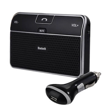 Universal Car Phone Bluetooth 4.0 Speaker Car Bluetooth Receiver Speakerphone Handsfree Bluetooth Adapter 3.5mm for Phone Tablet