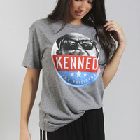 friday + saturday: kennedy for president tee