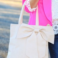 Picture Perfect Bag-Nude