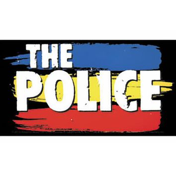 The Police Vinyl Sticker Synchronicity Logo