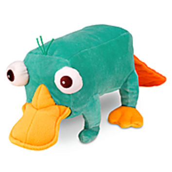 Perry Talking Plush - Phineas and Ferb - Medium - 13''