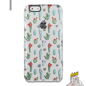 Samsung Galaxy S6 Case Floral iPhone 6s Case Cactus iPhone 6 Case iPhone 5s Case iPhone 6 Plus Case iPhone 5 Case Succulent iPhone 6s Plus