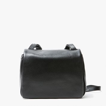 Kara / Pebble leather Mini Messenger