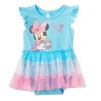 Disney's Minnie Mouse ''My First Tea Time'' Tutu Bodysuit - Baby Girl, Size: