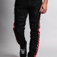 OW Striped Distressed Jeans DL1160 - P2C