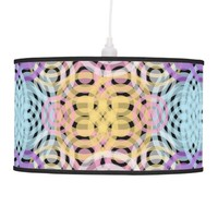 Wave Pattern (Black) Lamp