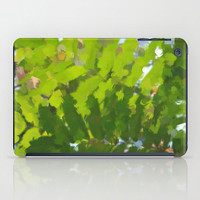 Art Print Tablet Cases, iPad Mini and iPad (2nd, 3rd, and 4th Gen), Abstract Green Jungle Print Tablet Cover.