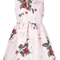 Red Valentino Cherry Print Dress - Luisa Boutique - Farfetch.com