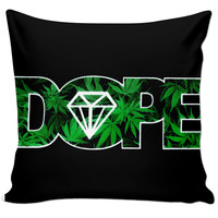 Dope Diamond Weed Pillow